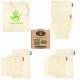 Zero Waste 10 pcs Ecologic Food Bags THINK-GREEN